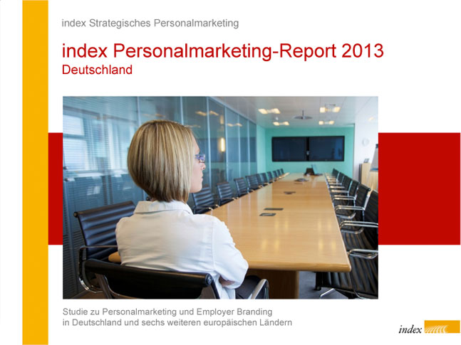 index Personalmarketing Studie 2013