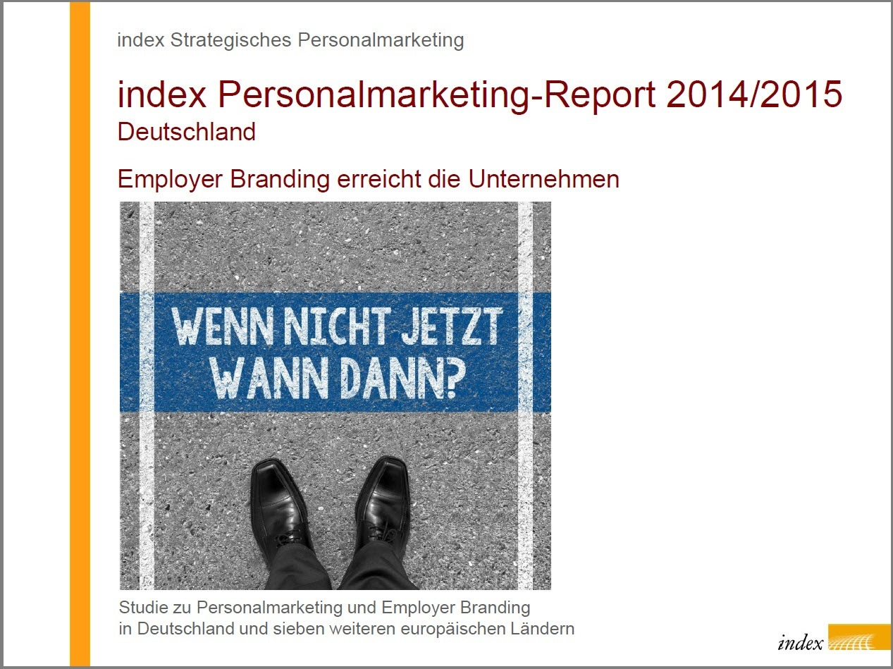 index Personalmarketing-Report 2014 / 2015