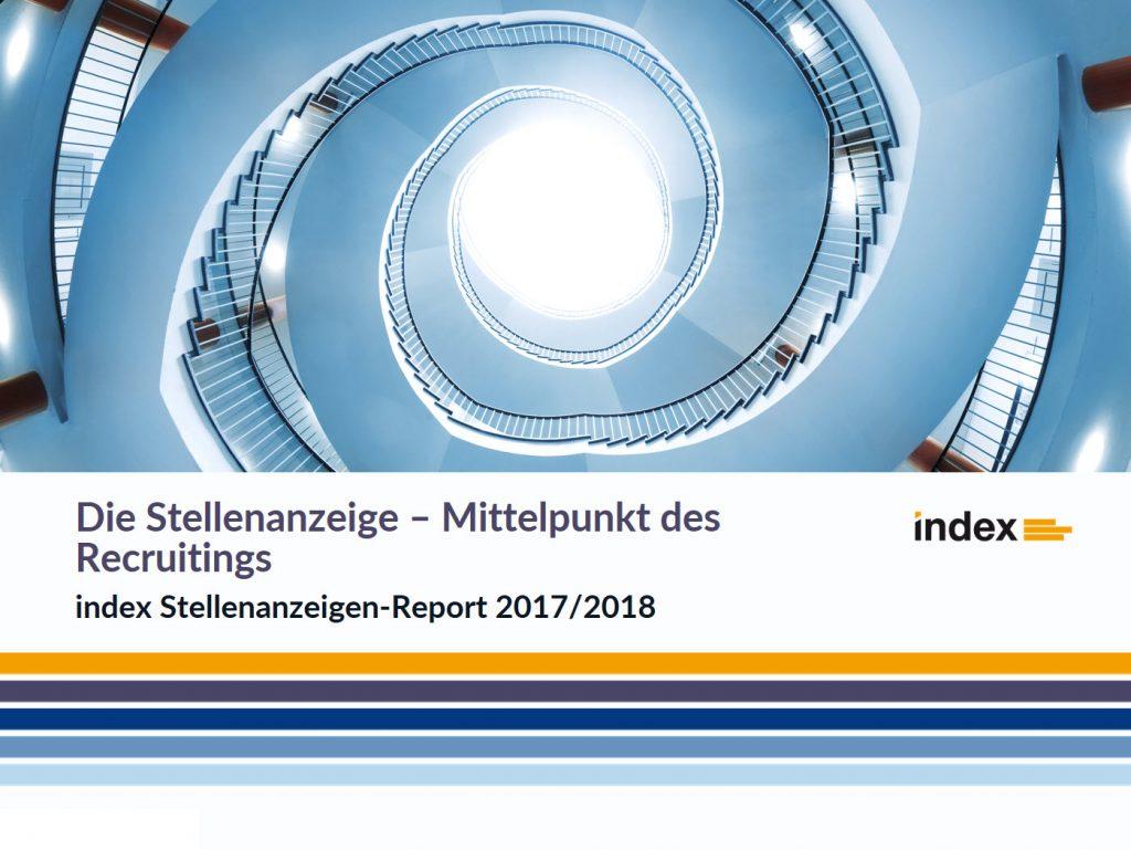 index Stellenanzeigen-Report 2017/2018