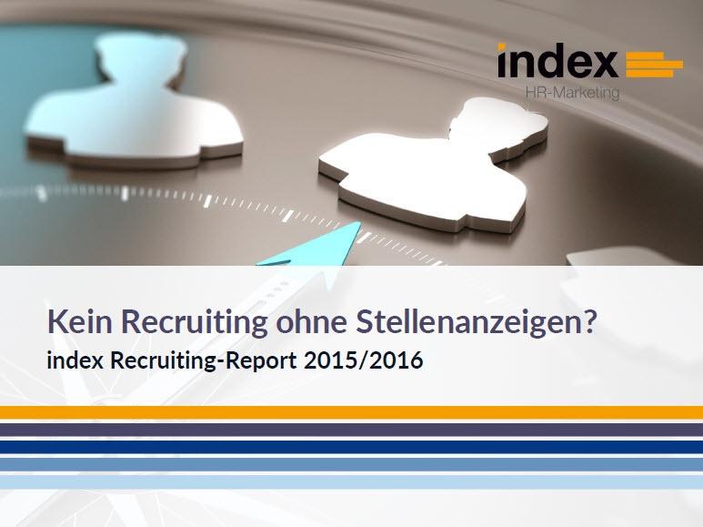 index Recruiting-Studie: Kein Recruiting ohne Stellenanzeigen?