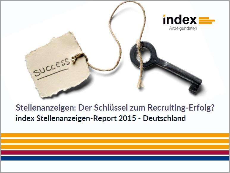 index Studie - Stellenanzeigen: Der Schlüssel zum Recruiting-Erfolg