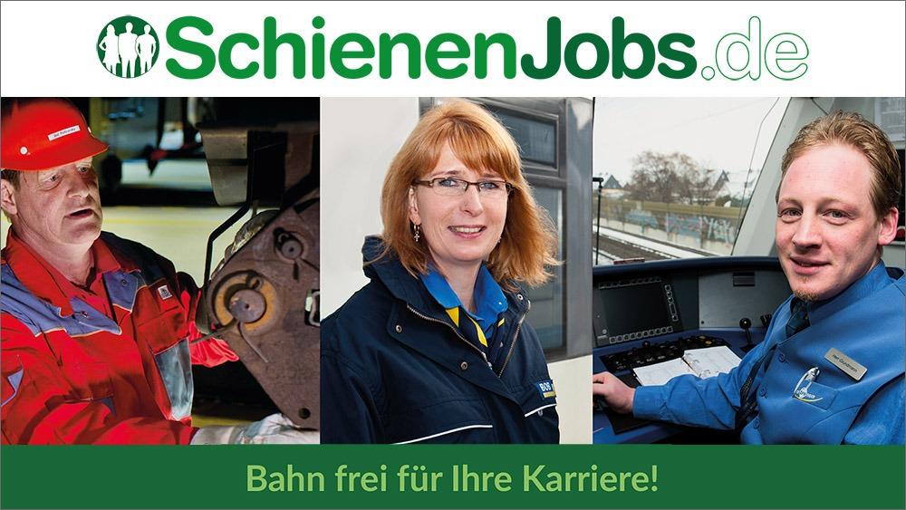 SchienenJobs - Das Karriereportal für Bahnberufe