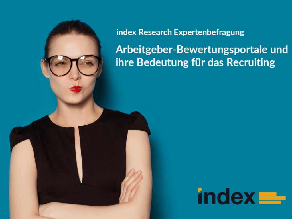 index Studie Arbeitgeberbewertungsportale und Recruiting