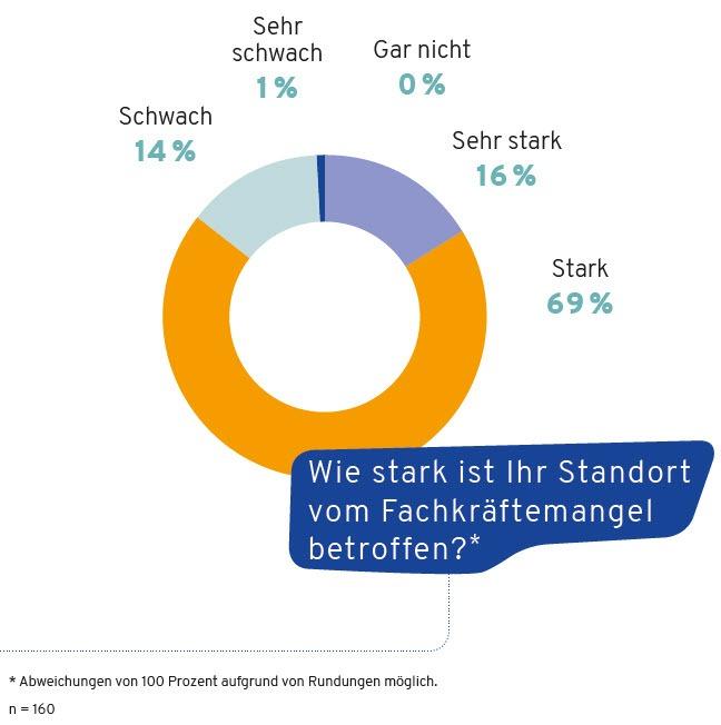 index Standortmarketing 2019 Frage Fachkräftemangel